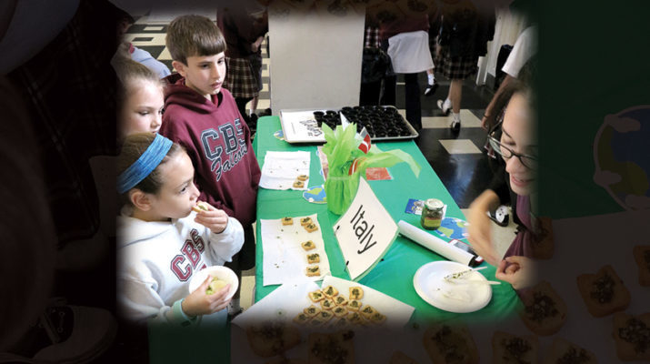 Students go on culinary jaunt