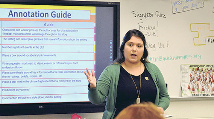 All In The Family For Standout Abp. Chapelle Teacher