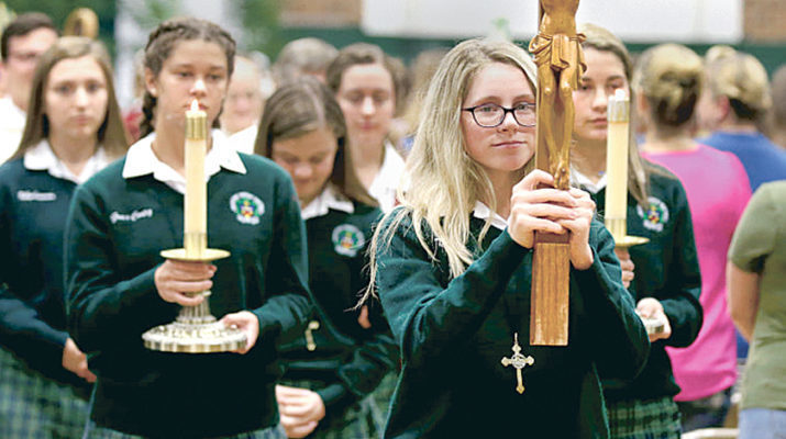 Abp. Chapelle Legacy Mass honors alumnae roots