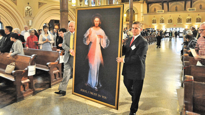 Fractured world needs Divine Mercy