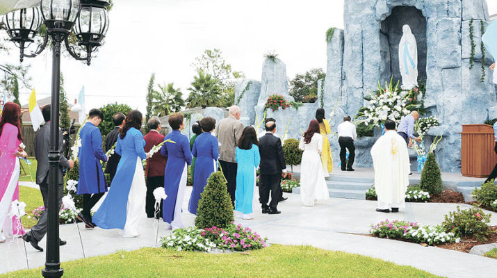 Dream fulfilled: Grotto dedicated at St. Agnes Le Thi Thanh