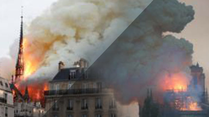 Update: Blaze erupts at Paris' iconic Notre Dame Cathedral; cause unknown