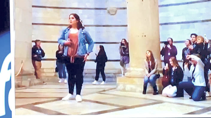 Hannan student sings in Pisa on memorable trip