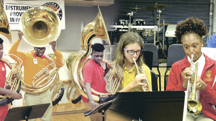 JPSO 'Band of Excellence' hits right notes with students