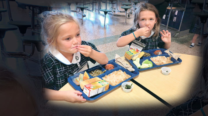 All hail kale! School cafeteria Nutrition Days allow kids to sample, rate 'new' foods
