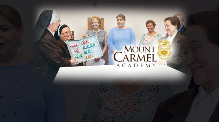 Keys to the Motherhouse transferred to Mount Carmel