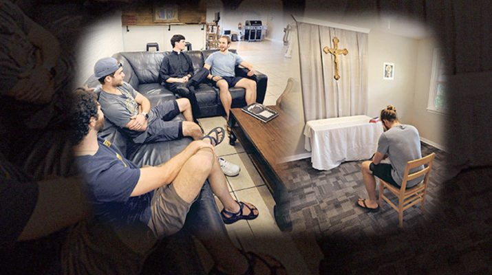 After tragedy, LSU's fraternity row is home to prayer