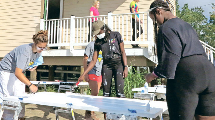 London-based Ursuline students reach out to N.O.