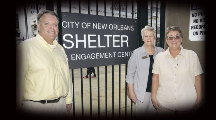 Archdiocese fills vital roles at city's new 'low-barrier' shelter