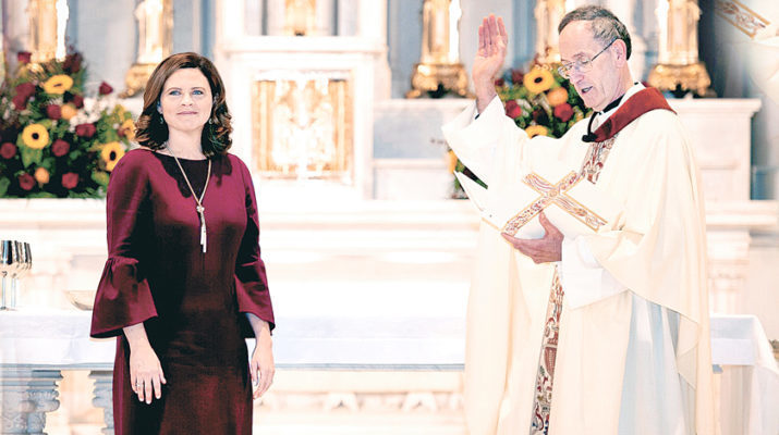 Loyola University New Orleans installs first lay and first female president