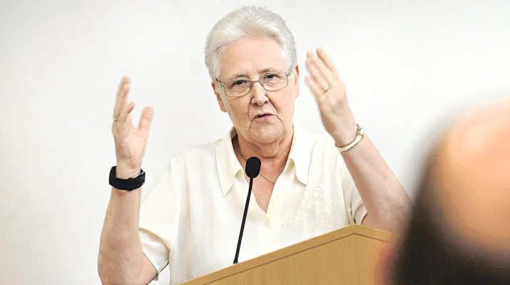Abuse survivor Marie Collins: Laity must take lead in reforms