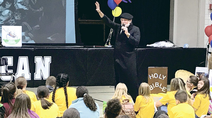 Children's Mission Day honored missionary role models