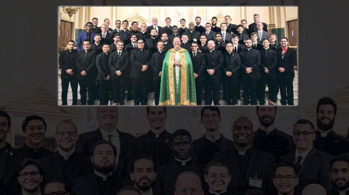 Notre Dame Seminary welcomes 45 first-year men