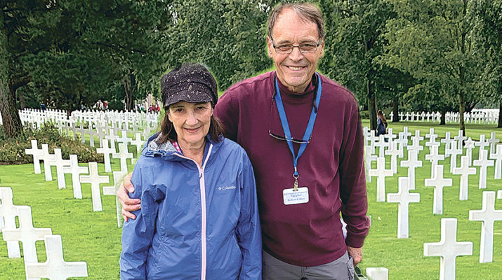 Pilgrimage to France, Normandy covers sacred ground