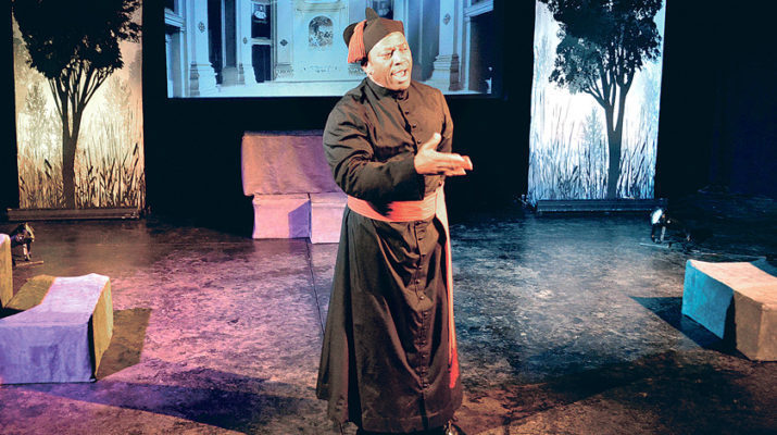 Play portrays life of black priest on saintly path