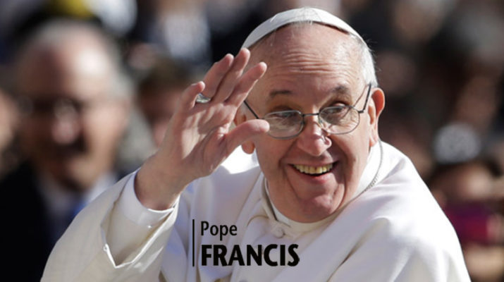 Pope: In baptism, Holy Spirit protects