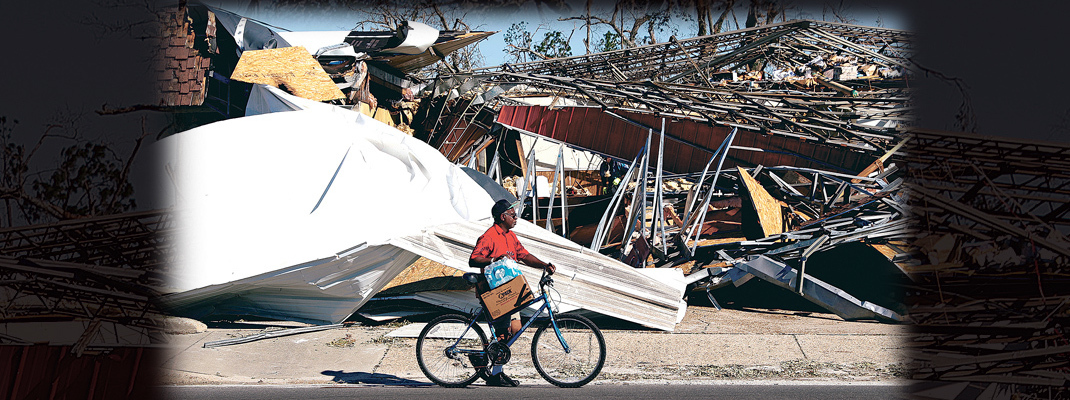 Archdiocese to collect relief funds for Hurricane Michael