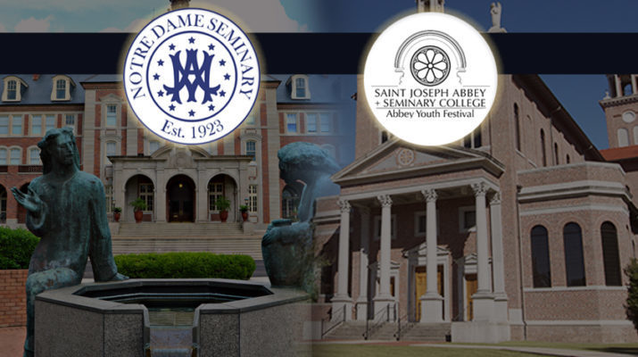 Strong enrollment at Notre Dame Seminary, St. Joseph Seminary College