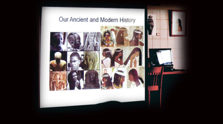 St. Mary's Academy hosts historical African hair exhibit