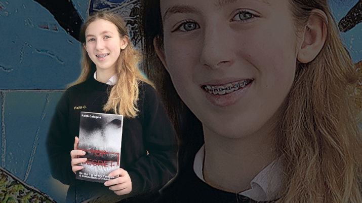 St. Edward 7th grader publishes anthology of original poems