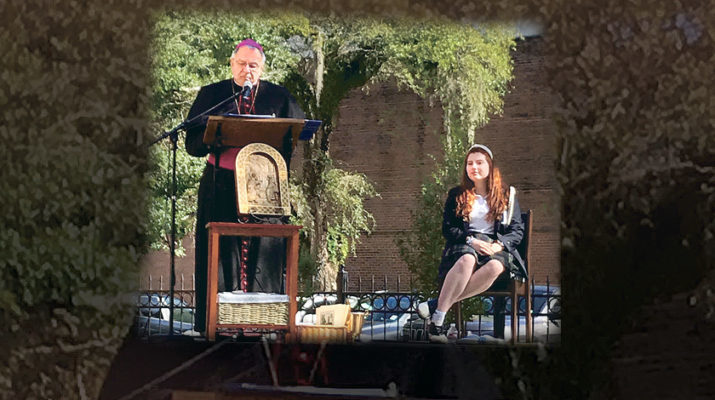 St. Scholastica Academy rings in new hall with Angelus