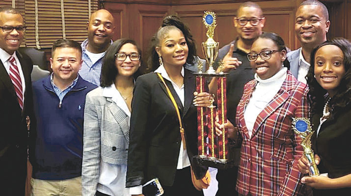 No argument: St. Mary's Academy Mock Trial Team is tops