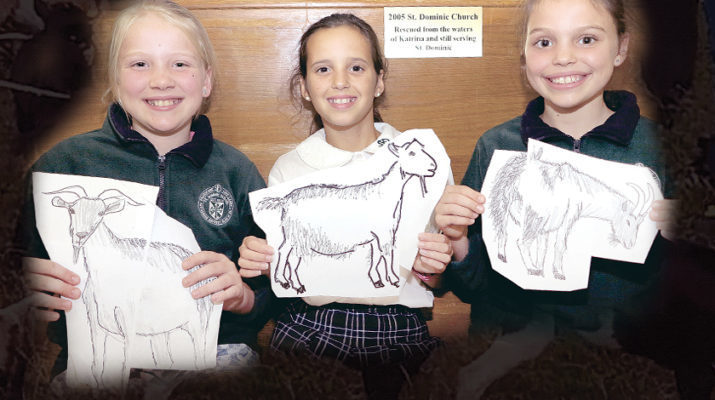 St. Dominic students took goat challenge seriously