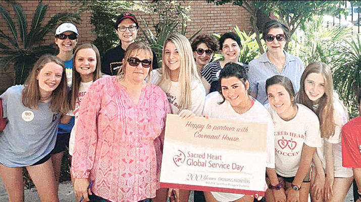 Academy of the Sacred Heart has global service day