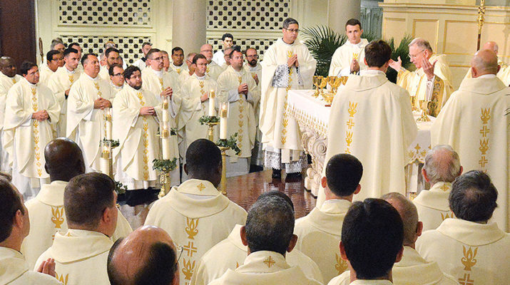 Thirteen priests to assume pastorates; five to retire