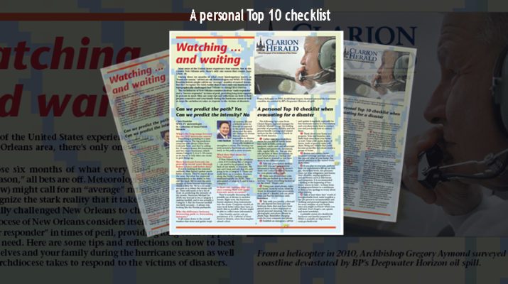 Watching and waiting: A personal Top 10 checklist