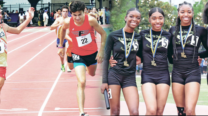 Top local athletes shine bright at state track meet