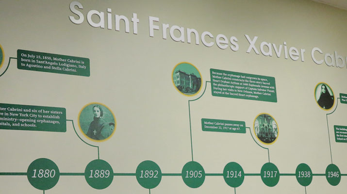 Tribute room to Mother Cabrini open to public
