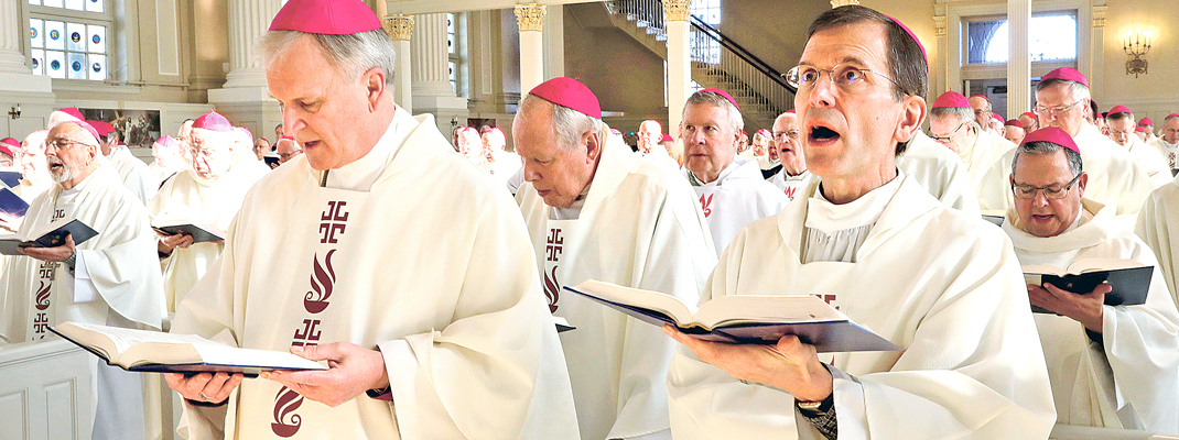 U.S. bishops gather for prayer