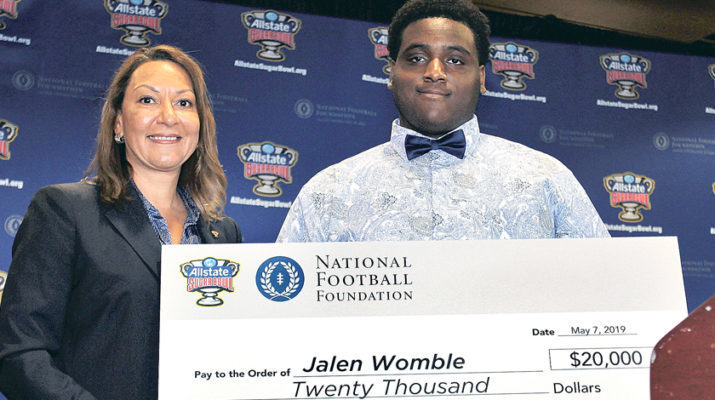 HC's Womble recipient of Sugar Bowl scholarship