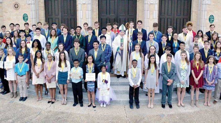 Serra Clubs of N.O. area bestow Altar Server of the Year awards
