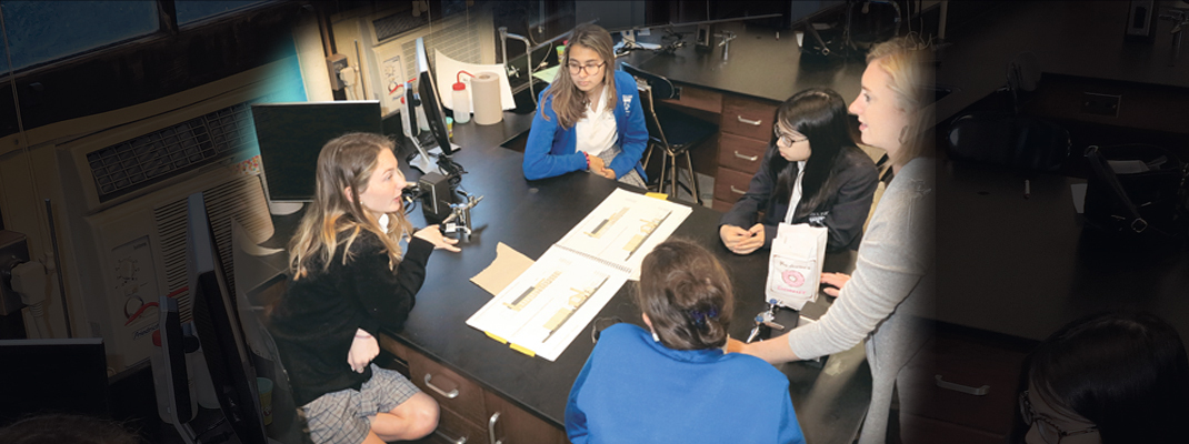 Architecture, engineering exercises shine at Ursuline