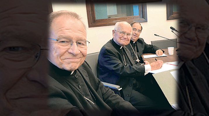 Abp. Aymond, southern bishops visit Pope Francis