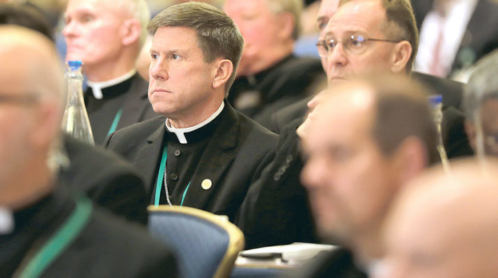 Notes from the November 2019 bishops' meeting