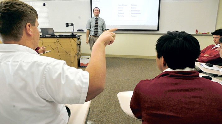 Brother Martin's quietest class speaks loudly