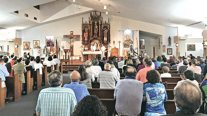 Catholic Men of Christ drew a crowd at Our Lady of Perpetual Help in Kenner