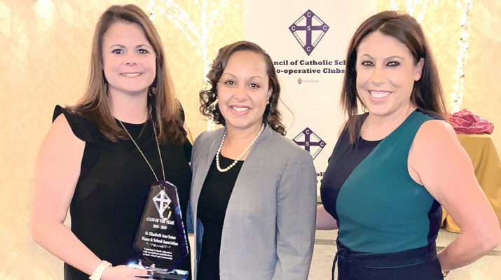 St. Elizabeth Ann Seton Home And School Assn. Wins CCSCC's 2019 'Club Of The Year'