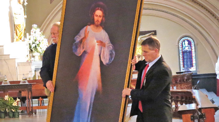 Churches offer Divine Mercy liturgies leading to April 8