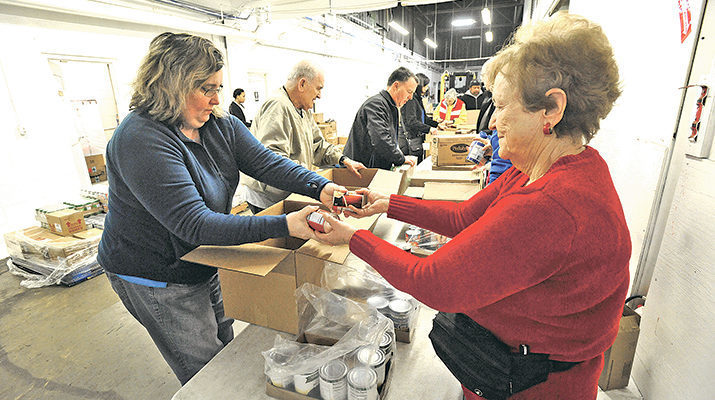 Second Harvest Food Bank gets helping hands aplenty