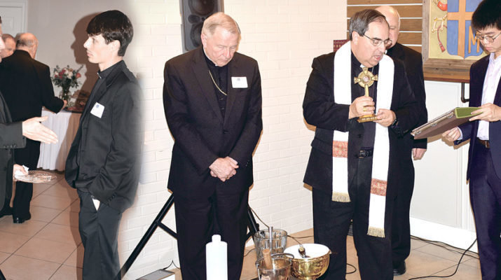 Former LSU frat house is blessed for Catholic ministry to young men
