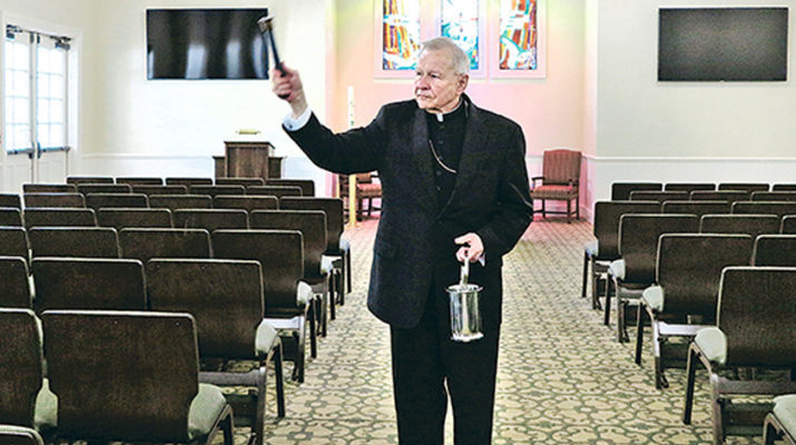 Archdiocese dedicates new funeral home, cemetery