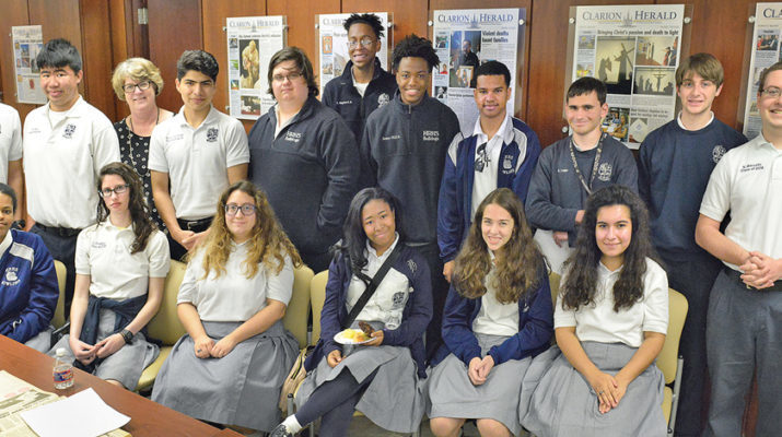 Florida shooting resonates with Holy Rosary students