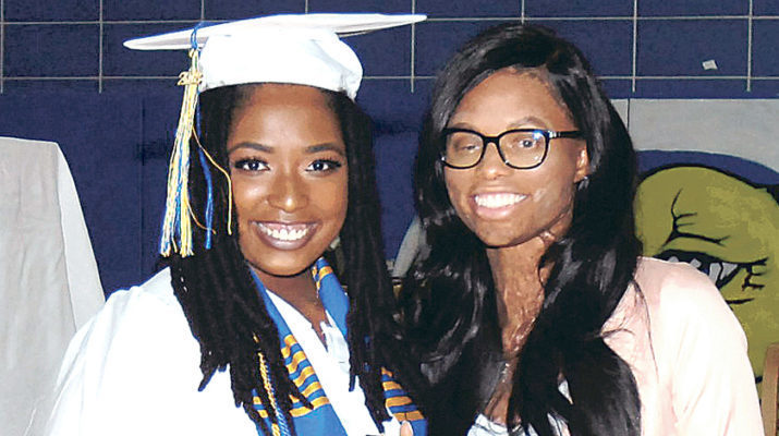 St. Mary's graduate Jasmin Bindom pays it forward