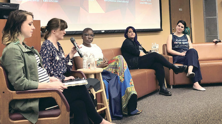 Loyola talks diversity in the pro-life movement