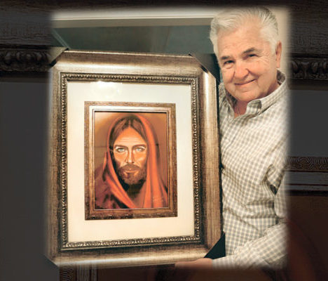 Mary Prodded Until He Painted The Face Of Jesus