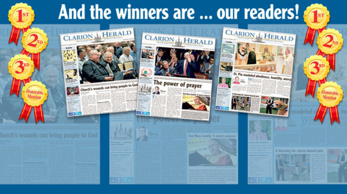 Clarion Herald earns national honors